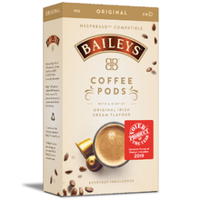 Baileys flavoured Coffee pods Nespresso