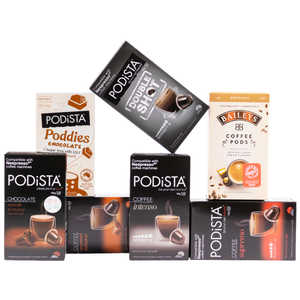 Express pods coffee and chocolate pods 700 bundle nespresso compatible