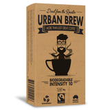 Urban Brew pods Intensity 10 Coffee Biodegradable Coffee Pods
