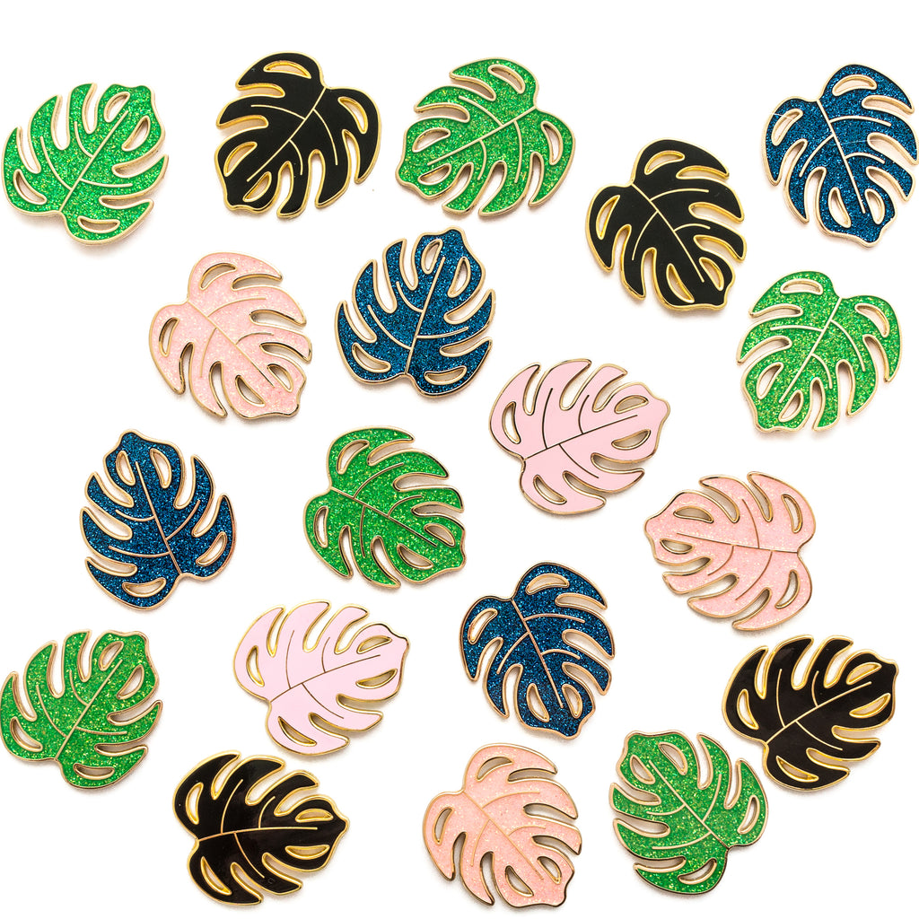 Monstera Enamel Pin [product-vendor]- Pilea Place House Plant Store Melbourne Sydney Australia Canberra Brisbane Victoria New South Wales
