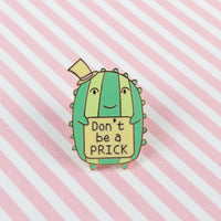 Mr. Cactus Hard Enamel Pin [product-vendor]- Pilea Place House Plant Store Melbourne Sydney Australia Canberra Brisbane Victoria New South Wales