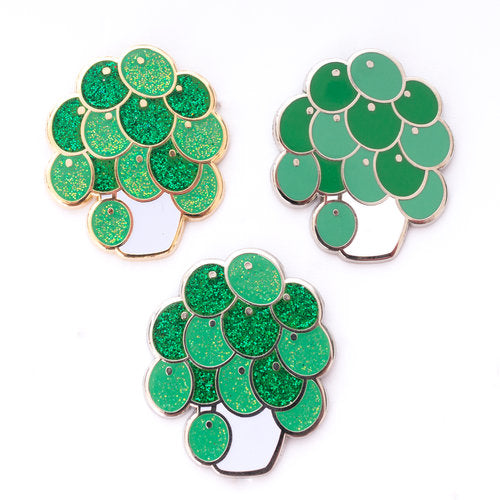 Pilea Peperomioides House Plant Store Hard Enamel Pin Gold Silver Melbourne Australia Sydney Canberra