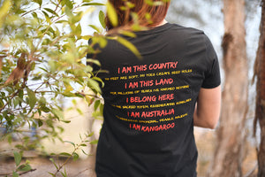 I AM Kangaroo T-Shirt (LADIES)