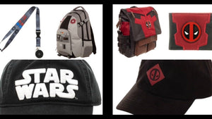 Our Pop Culture Collection comprises T-Shirts, Bags, Backpacks, Snap backs, Wallets and more from Officially Licenced brands like Star Wars, Pink Floyd, Marvel Deadpool, Captain America, Super Mario, Harry Potter and many more.