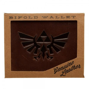 Nintendo Zelda Leather Bi-Fold Wallet