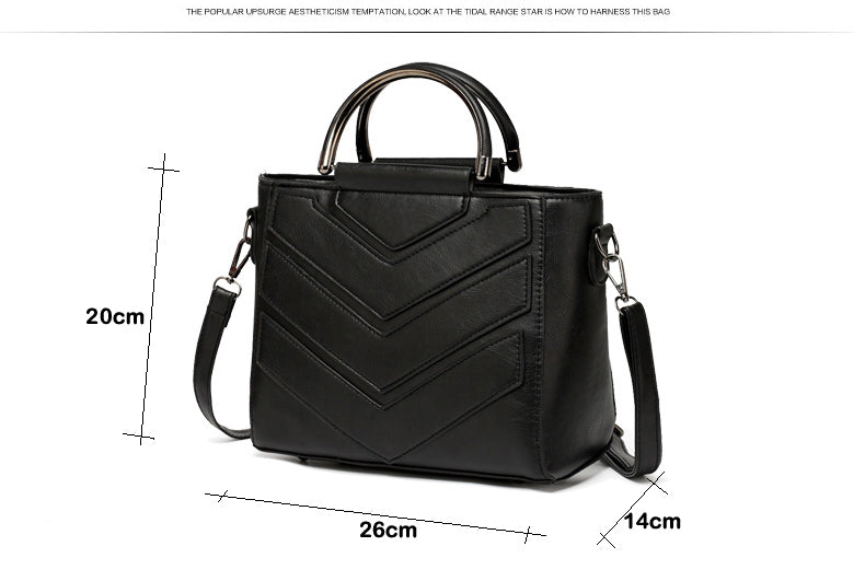 New Women Bag PU Leather Handbags Ladies  Crossbody Bags Trendy Luxury Tote Female Shoulder Messenger Bags Bolsas Feminina