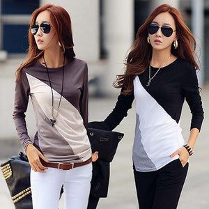 Women Tops And BlousesNew Fashion Long Sleeve Shirt Womens Blouse Ladies