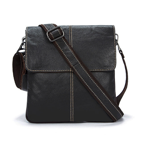 Genuine Leather Men Bag Crossbody Messenger Casual Bags