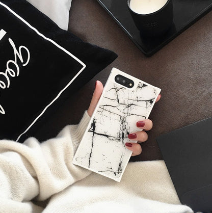 New Marble Phone Case for iPhone 6s 6Plus 7 7Plus i7 Stone Texture Soft TPU Funda Cover For iPhone 8 8plus