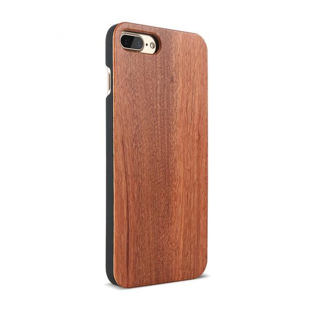 Wooden Case For Samsung Galaxy S8 S6 S7 Edge Natural Bamboo Protective Cover For iPhone 7 6 6S Plus Phone Cases