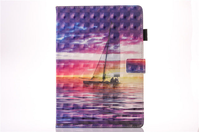 "For Apple IPad Pro 10.5 inch 3D Vision Stand Leather Fundas Case For Coque IPad Pro 10.5"" Tablet Cover Cases"