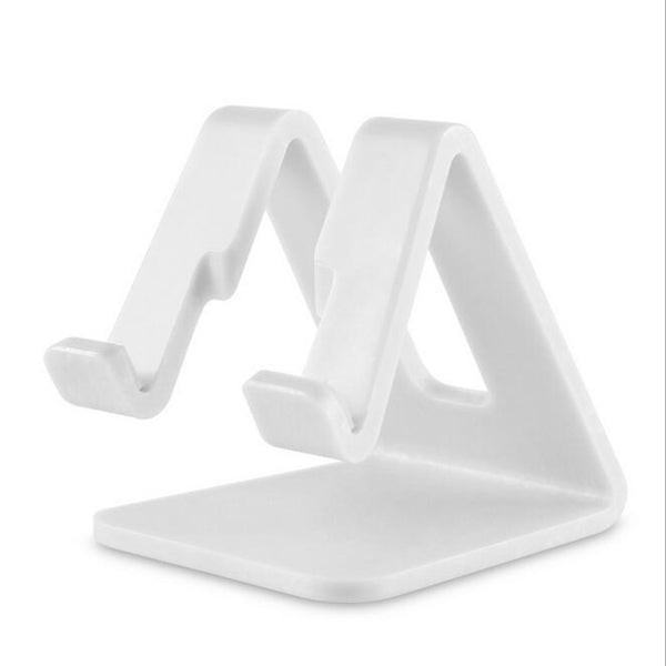 Universal Desk Holder Tablet Mobile Phone Holder with Shock-proof Silicone Pad Strong Plastic Cell Phone Holder Stand Mount