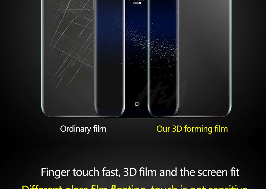 3D Curved Soft Screen Protector For Samsung Galaxy S9 S8 Plus Note 8 S7 Edge Full Cover Protector Film Not Tempered Glass