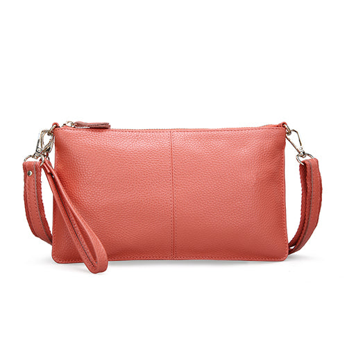 2018 Genuine Leather Women Bag Party Clutch Evening Bags Fashion Ladies Shoulder Crossbody Messenger Bag