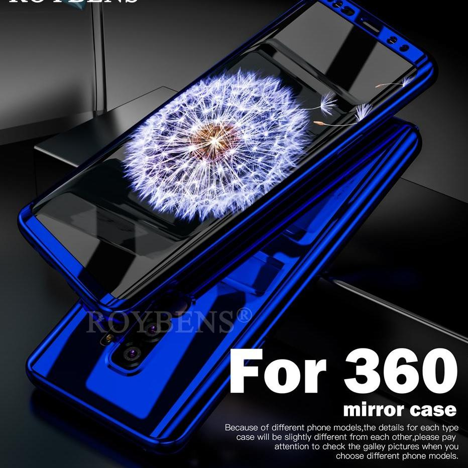 Case For Samsung Galaxy S9 Soft Screen Protector For Galaxy S9 Plus Case Ultra Thin Mirror 360 Degree Full Protect Cover