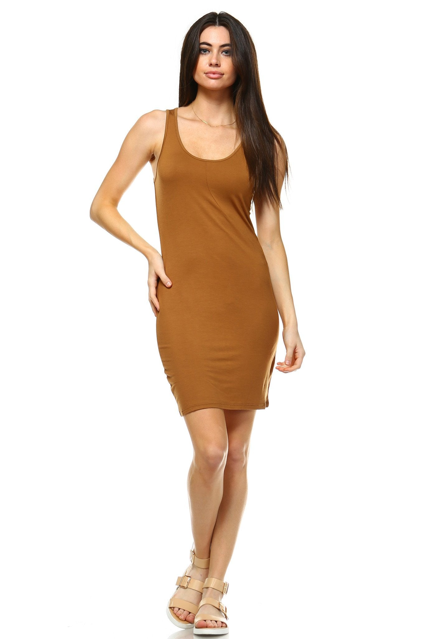 Women's Sleeveless Bodycon Dress