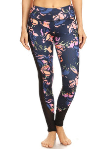 High Quality Printed Legging with Side Pockets