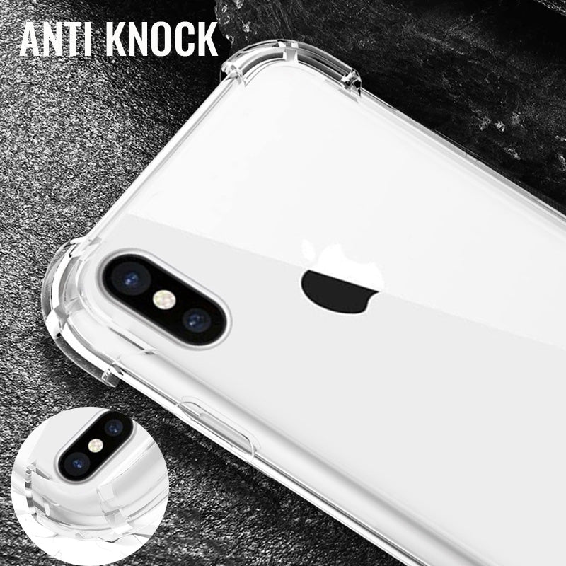 Clear Anti Knock Soft Silicone Phone Case For iPhone 7 8 Plus X XS Max XR Transparent Back Cover For iPhone 6 6s Cases Soft Capa