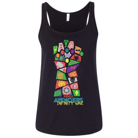 Avengers Infinity War Pop Art t shirt Ladies' Relaxed Jersey Tank