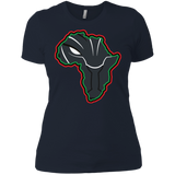 African Black Panther funny t shirt Ladies' Boyfriend shirt