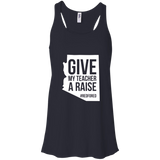 Arizona Teacher Rive My Teacher a Raise Red For Ed Shirt Racerback Tank