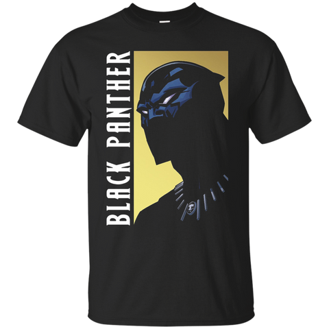 Black Panther Character Profile Intro Graphic t shirt Cotton t shirt
