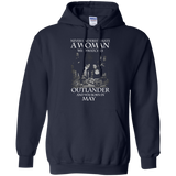 A woman who watches Outlander and was born in May t shirt Hoodie