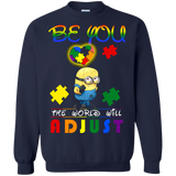Autism Awareness Minions shirt Sweatshirt