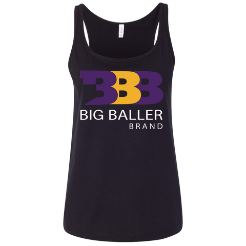 Big Baller Brand funny t shirt Ladies' Relaxed Jersey Tank