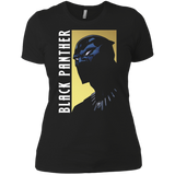 Black Panther Character Profile Intro Graphic t shirt Ladies' Boyfriend shirt
