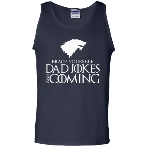 Brace Yourself Funny Joke t shirt Cotton Tank Top