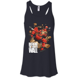 Breaking the Fourth Wall - Deadpool shirt Racerback Tank