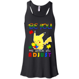 Autism Awareness - Pokemon - Be you shirt Racerback Tank