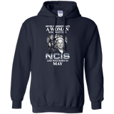 A woman who watches NCIS and was born in May t shirt Hoodie