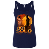 A Star Wars Story - Han Solo shirt Ladies' Relaxed Jersey Tank