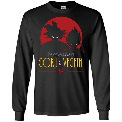 Adventures of Goku & Vegeta t shirt Ultra Cotton shirt