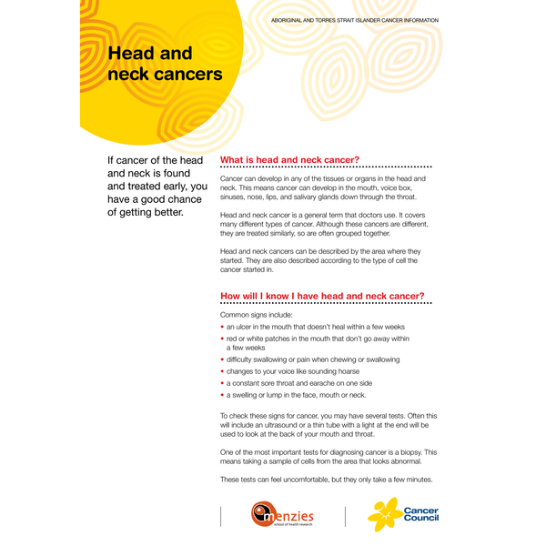 Head and Neck Cancer (PDF Download)