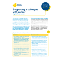 HR:  Supporting a Colleague with Cancer (PDF Download)