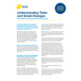 Understanding Taste and Smell Changes (PDF Download)
