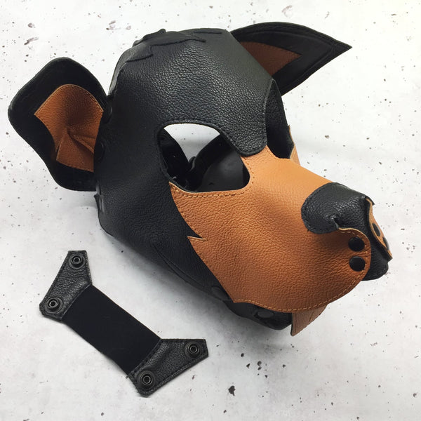 SAMPLE SALE - ONE ONLY - Doberman Pup Hood - Size S