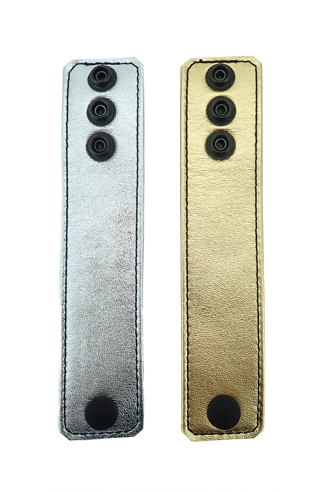 "1.5"" metallic leather ball stretcher"