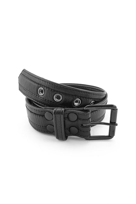 RACER STRIPE PUP COLLAR - Black