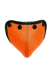 Orange leather standard codpiece