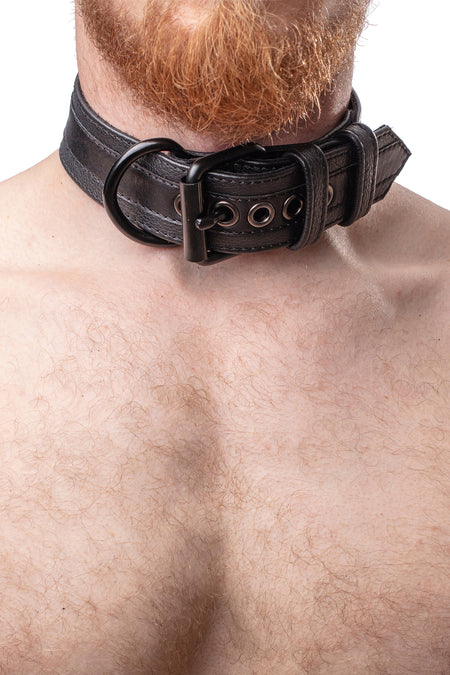WRIST AND ANKLE RESTRAINTS SET - Black
