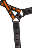orange leather universal x harness