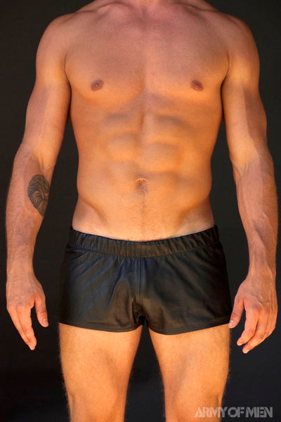 FOOTY SHORTS  - Black