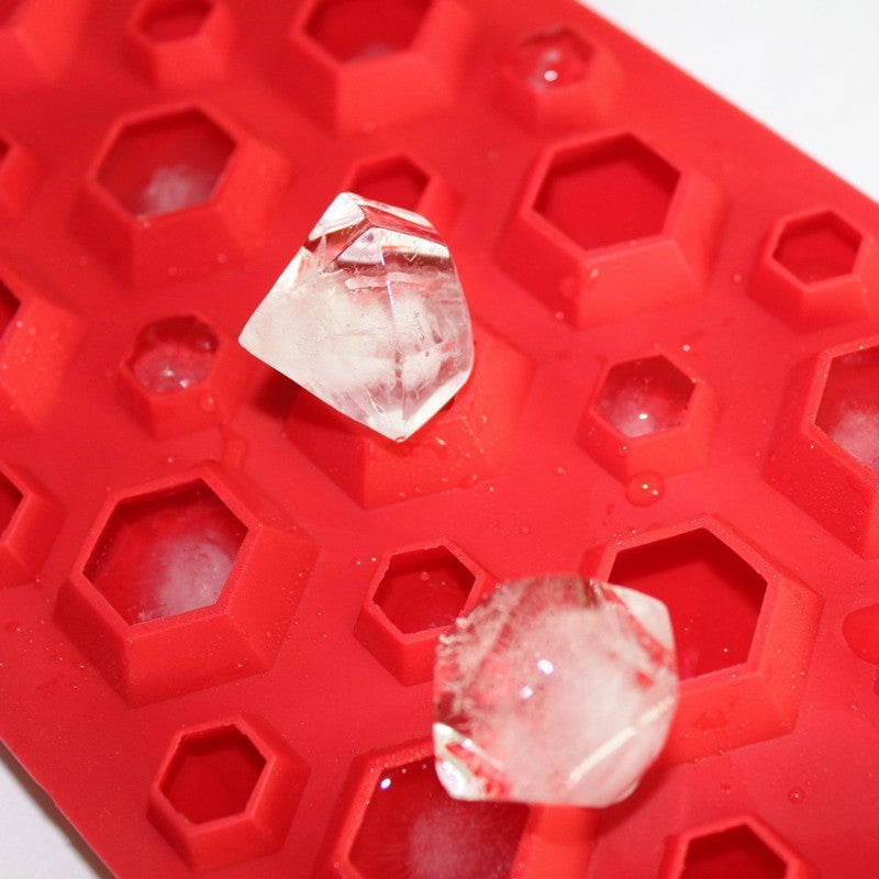 3D Diamonds Silicone Ice Cube Molds