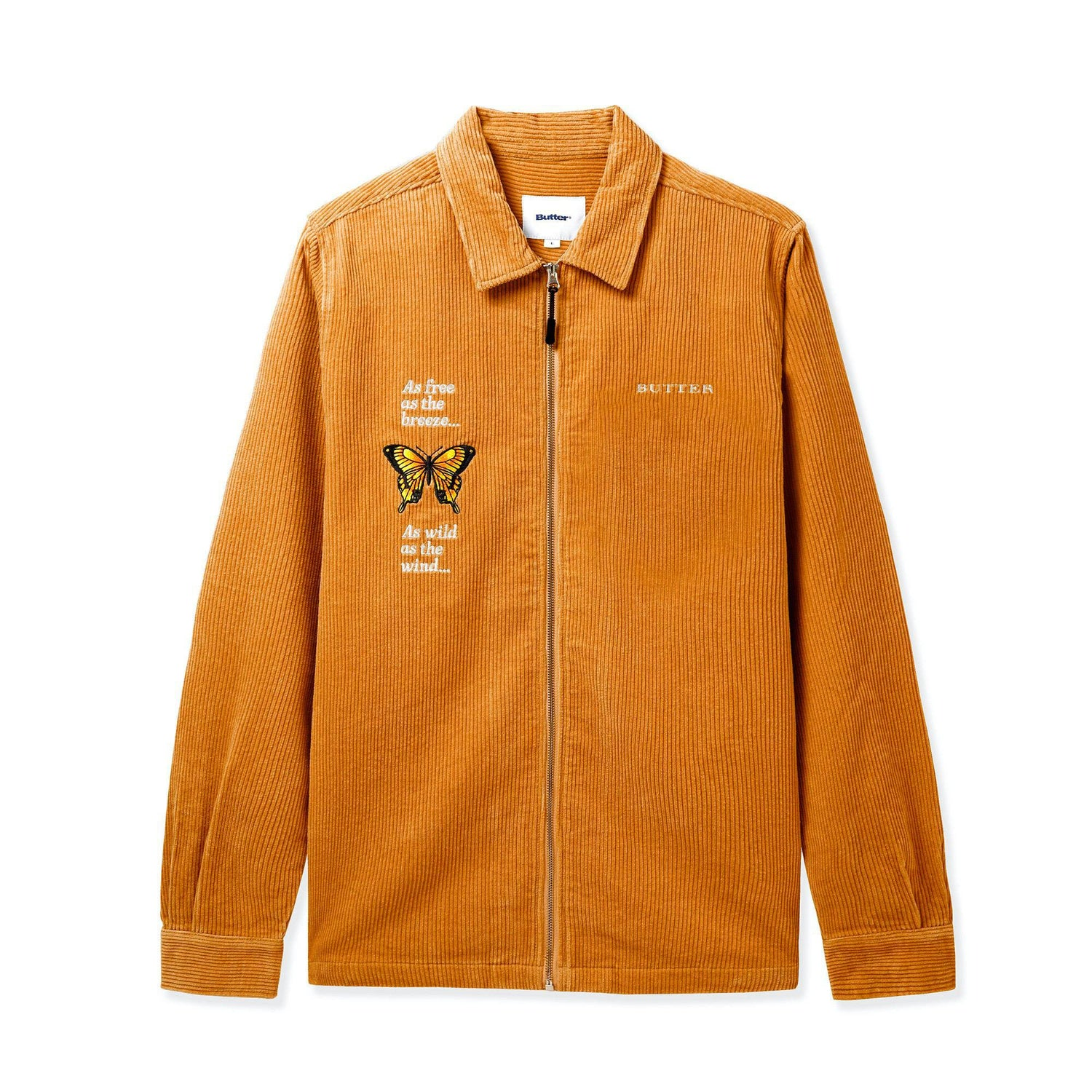 Butterfly L/S Workshirt, Camel
