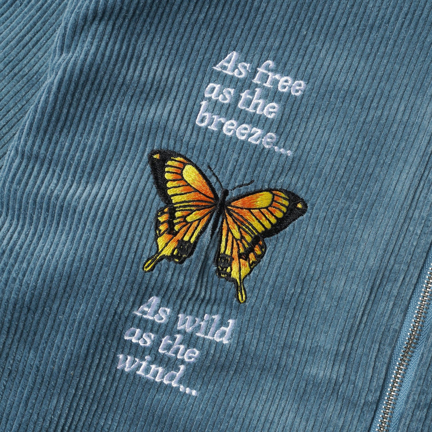 Butterfly L/S Workshirt, Ice Blue