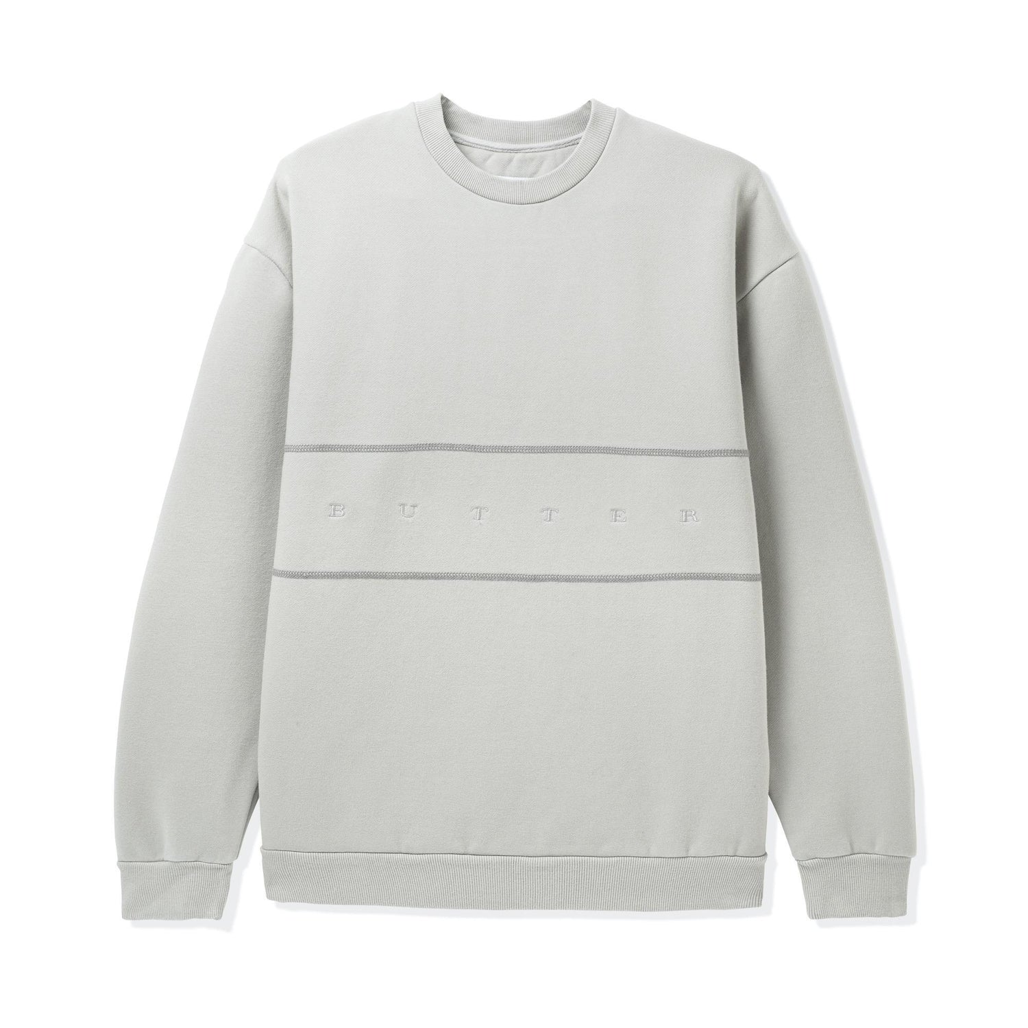 Hampshire Pigment Dye Crewneck, Cement